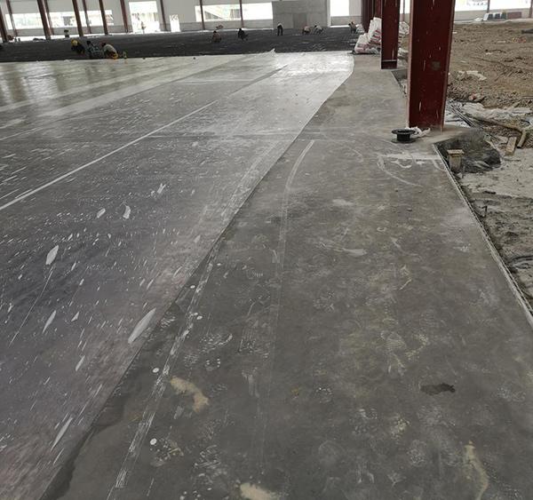 福耀玻璃苏州漕湖项目中灰色金刚砂 200000m2